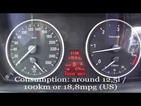 2012 BMW X5 xDrive30d Fuel Consumption Test