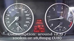 2012 BMW X5 xDrive30d Fuel Consumption Test