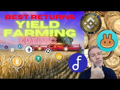Mind-Blowing Returns!  Best Crypto Yield Farming rates. Binance vs Pancakeswap vs AutoFarm