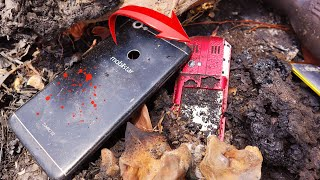 Restoration destroyed abandoned phone | Found a lot of broken phones in the rubbish [ HowToRepair ]