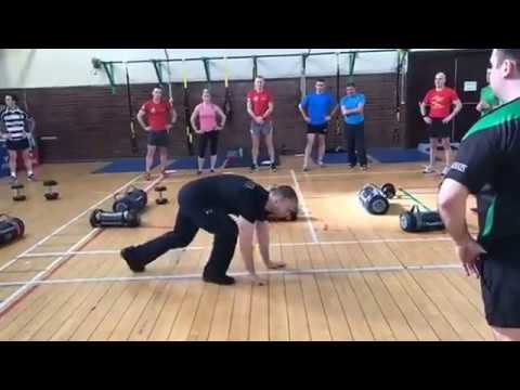 A day in the life of a personal trainer with the Irish Defence Forces