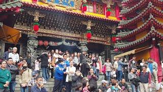 韓國瑜 玉皇宮 發紅包
