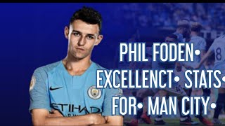 PHIL FODEN EXCELLENT STATS FOR MAN CITY