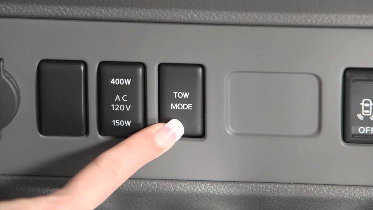 2012 Nissan Nv Tow Mode Switch Youtube