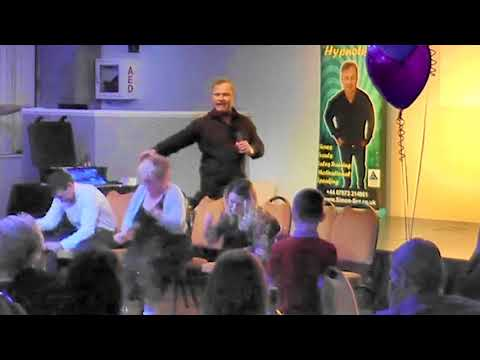 Simon Sez - Comedy Stage Hypnosis - Cow Milking Competition
