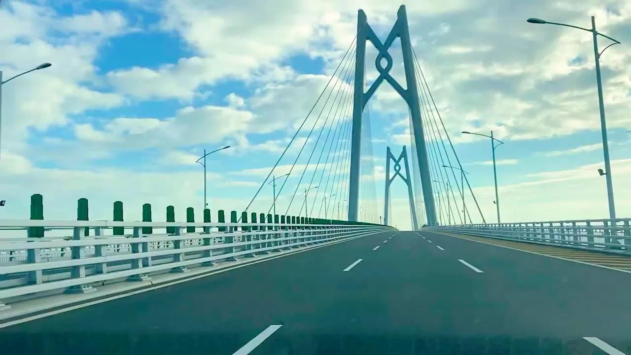 澳門港珠澳大橋自駕遊 - YouTube