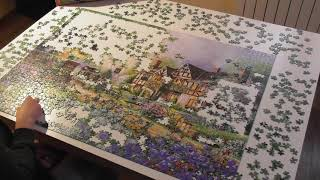 Puzzle The old coach Inn, Castorland 2000