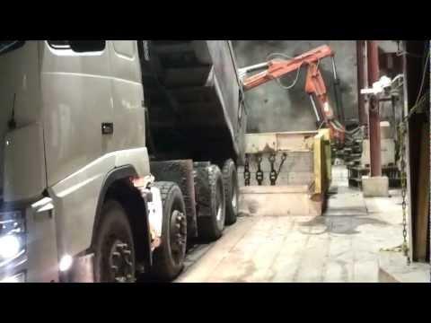 4000 Feet Below Ground: Zinkgruvan Mining Complex Part 07: The Ore Truck Arrives.