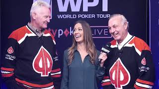 WPT's Caitlyn Howe Meets NHL Hall of Famers Guy Lafleur & Larry Robinson at Playground Poker Club
