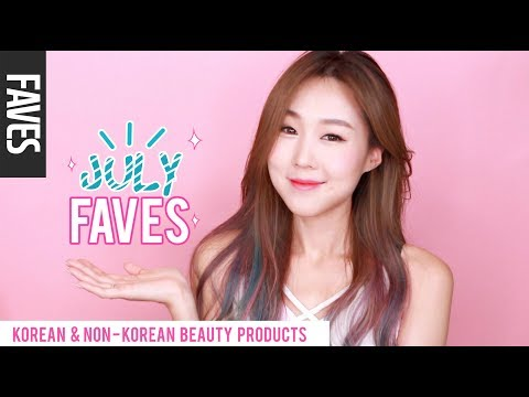 JULY 2017 FAVORITES! Korean & Non-Korean Makeup & Skincare 미즈뮤즈 7월 추천 뷰티템 | meejmuse