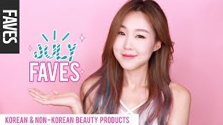 JULY 2017 FAVORITES! Korean & Non-Korean Makeup & Skincare 미즈뮤즈 7월 추천 뷰티템 | meejmuse