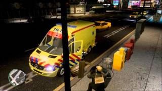 GTA IV *new* dutch ambulance siren