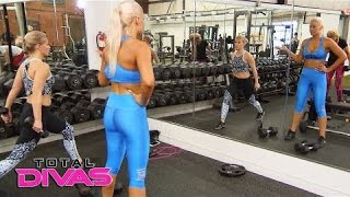 Renee Young talks to Maryse about her conflict with The Bella Twins  Total Divas Bonus Clip, Nov