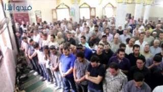 بالفيديو : الصلاه على الشهيد الملازم أول محمود صلاح الدين عبد الموجود بالمنوفية