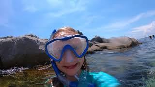 Snorkeling at the Destin Jetties - raw video 3
