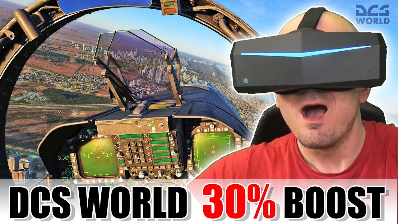 HOW is this possible? DCS World 30% VR performance boost with one click!