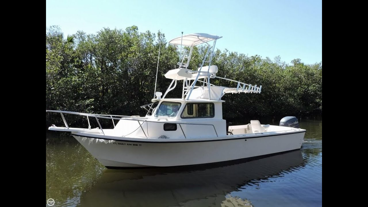 Unavailable used 1989 parker 2520 pilot house in fort for Pilot house fishing boats