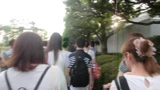 c86 ゆりかもめ 国際展示場正門駅→東待機列(2日目)