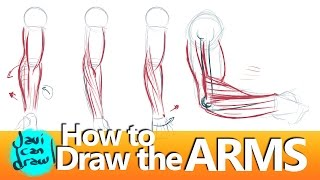 HOW TO DRAW FOREARMS