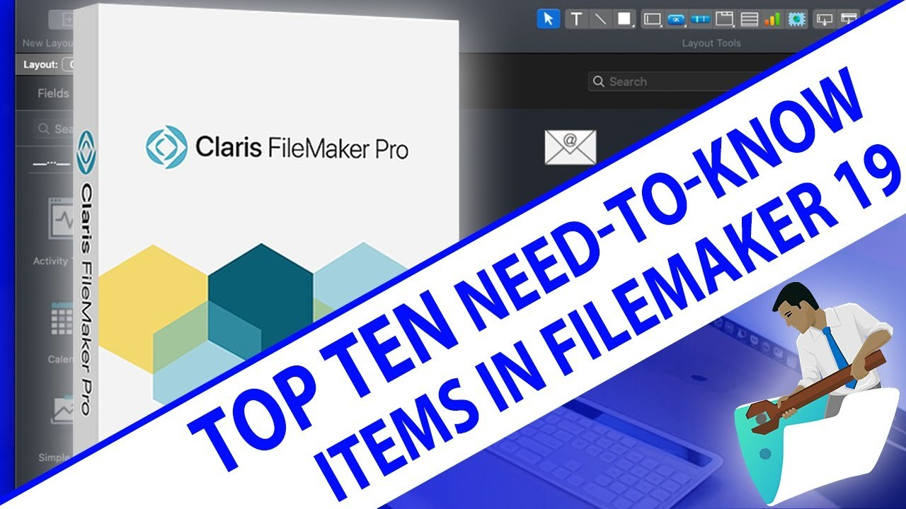 FILEMAKER DATABASE for MAC, WINDOWS , WEB and IOS - cover