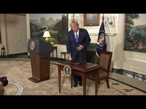 """Iran Nuclear deal: Trump pulls US out of """"horrible, rotten"""" 2015 agreement"""