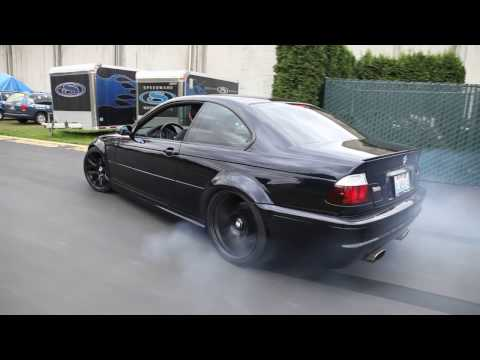 Taking an E46 M3 out for a walk then doughnuts
