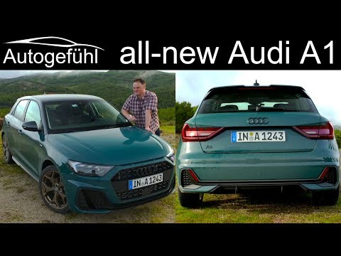 2019 Audi A1 Sportback FULL REVIEW all-new - Autogefühl