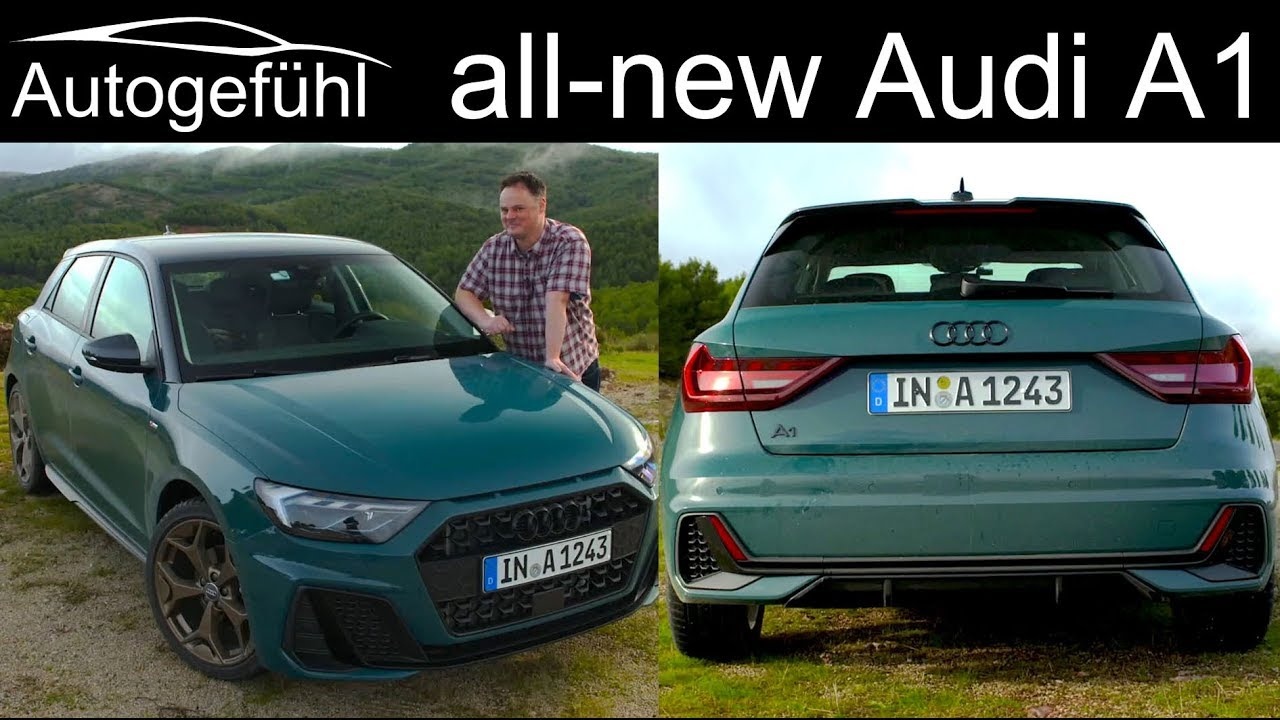 2019 audi a1 sportback full review all new autogef hl youtube. Black Bedroom Furniture Sets. Home Design Ideas
