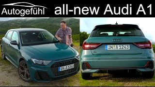 2019 Audi A1 Sportback FULL REVIEW all-new - Autogefühl