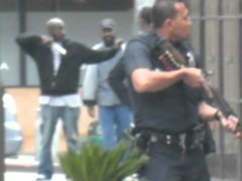 Download M1GS Los Angeles LAPD with shotgun