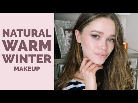 Natural Warm Winter Makeup Look 2018