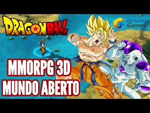MELHOR GAME DE DRAGON BALL! MMORPG MUNDO ABERTO DRAGON BALL STRONGEST WARRIORS GAMEPLAY BR DOWNLOAD