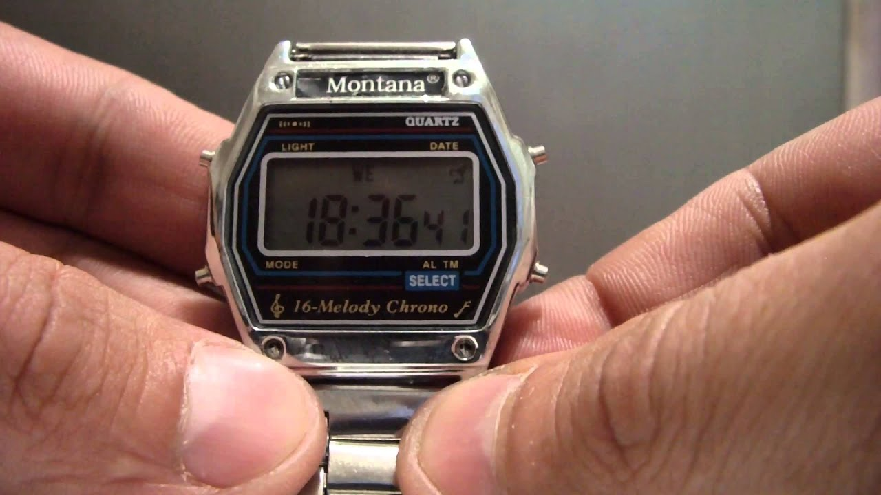 a0cf2c4e Montana watch . Часы