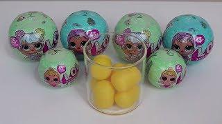 LOL Sürpriz Bebek Yumurta Challenge Yaptık! - Yeni ve Eski Seri Lol bebek Açtık! - Bidünya Oyuncak
