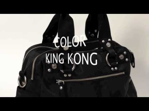 george gina lucy tasche double b king kong black youtube. Black Bedroom Furniture Sets. Home Design Ideas