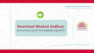 TUTORIAL: Download Masked Aadhaar