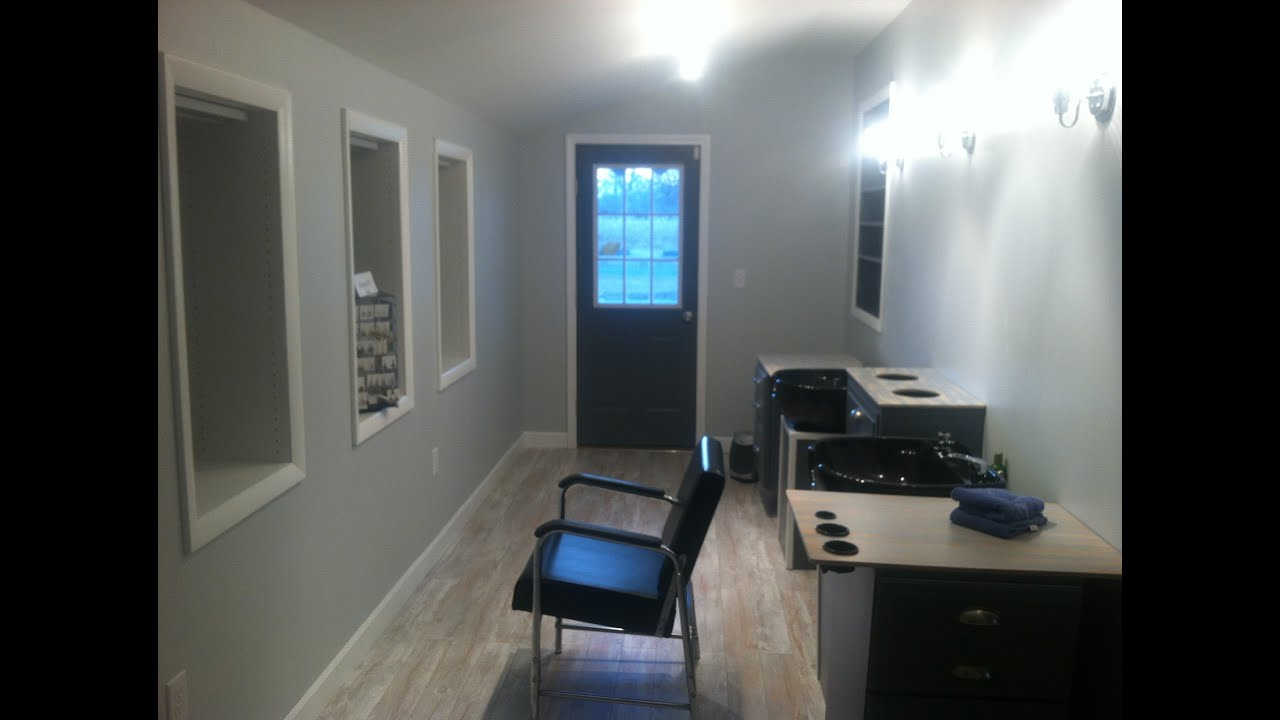 home hair salon reveal