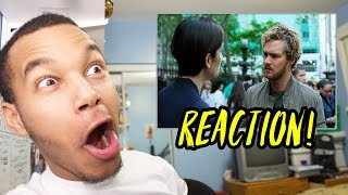 """Iron Fist Season 1 Episode 3 """"Rolling Thunder Cannon Punch"""" REACTION!"""