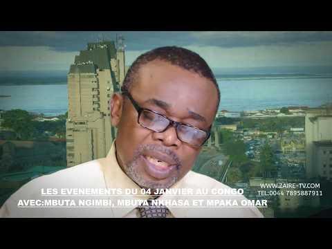 ZAIRE TVJGK NEWS: LES EVENEMENTS DU 04 JANVIER AU CONGO