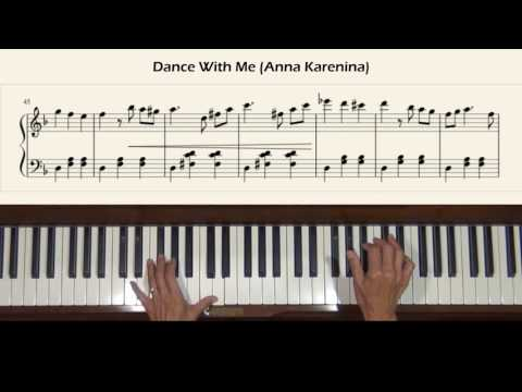 Dance With Me Anna Karenina Piano Cover with Tutorial