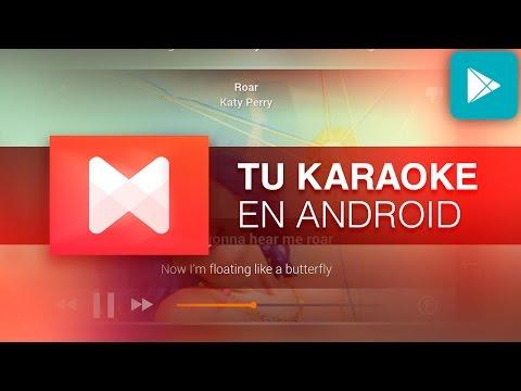 Cómo transformar tu Android en un KARAOKE