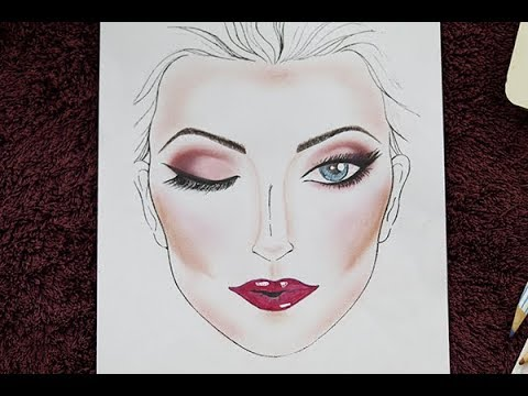 Makeup - Face chart using inexpensive products   MUA Mamta