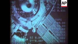 Russia - Soyuz TM-20 Docks With MIR Space Station