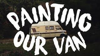 Painting Our Van Interior (Van Build - Part 7)