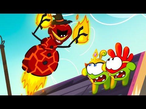 Om Nom Stories - Super-Noms: Burnman (Cut the Rope) Kedoo ToonsTV