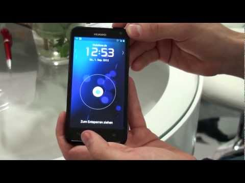 IFA 2012: Huawei Ascend D1 Quad XL Smartphone Hands-On