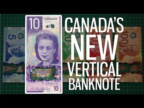 Canada's New Vertical Banknote