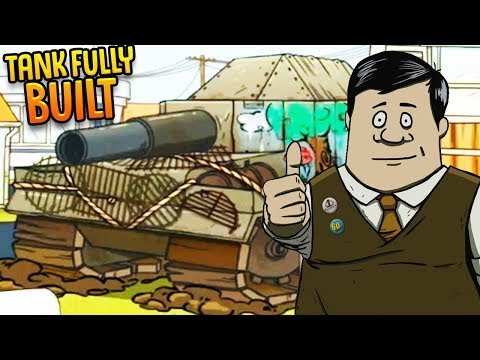 The Tank Is Finally Fully Built! - Surviving With No One At The Shelter? - 60 Seconds Reatomized