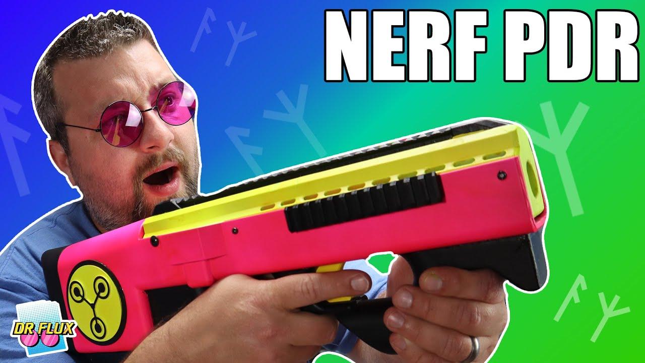 Nerf Full Auto Solenoid Power House!! The Nerf PDR Build Log