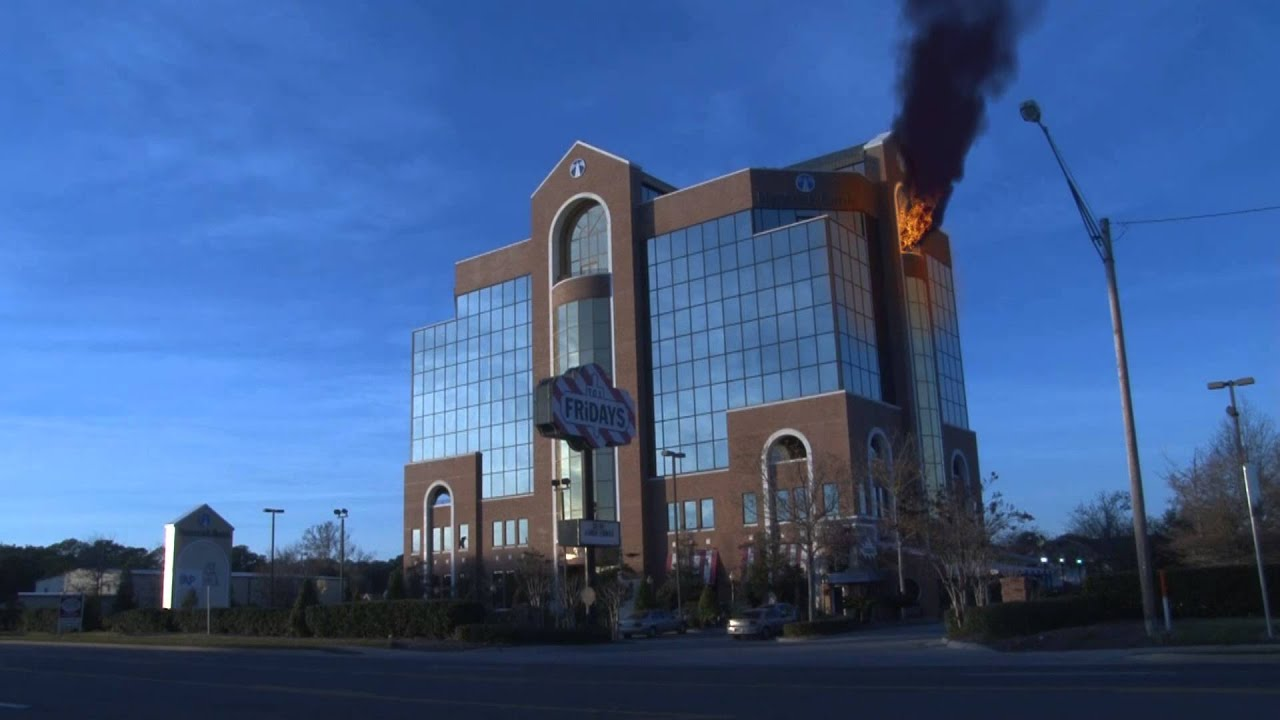 hancock bank building on fire after effects fx youtube. Black Bedroom Furniture Sets. Home Design Ideas